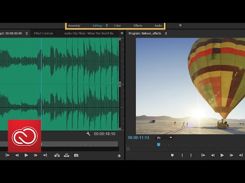 Premiere Pro & After Effects: Touch And Gesture-based Editing | Adobe Creative Cloud