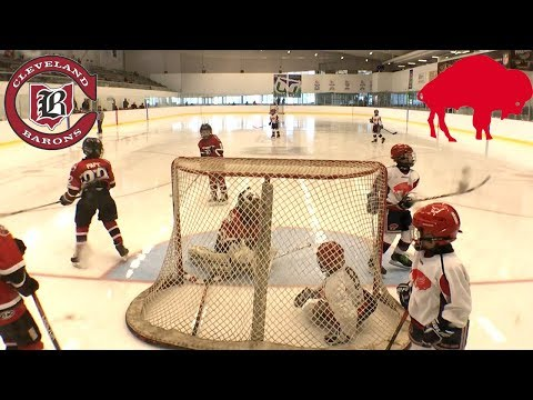 Kids HocKey - Buffalo takes on Cleveland Barons in Canada Close Game must watch till end