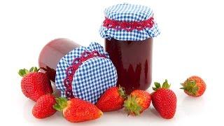 معجون الفراولة - مربى الفراولة  بطريقة سهلة وصحية - Strawberry Jam - Confiture de Fraise