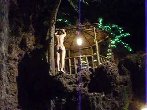 Cliff Diving At Casa Bonita Restaurant In Lakewood Colorado