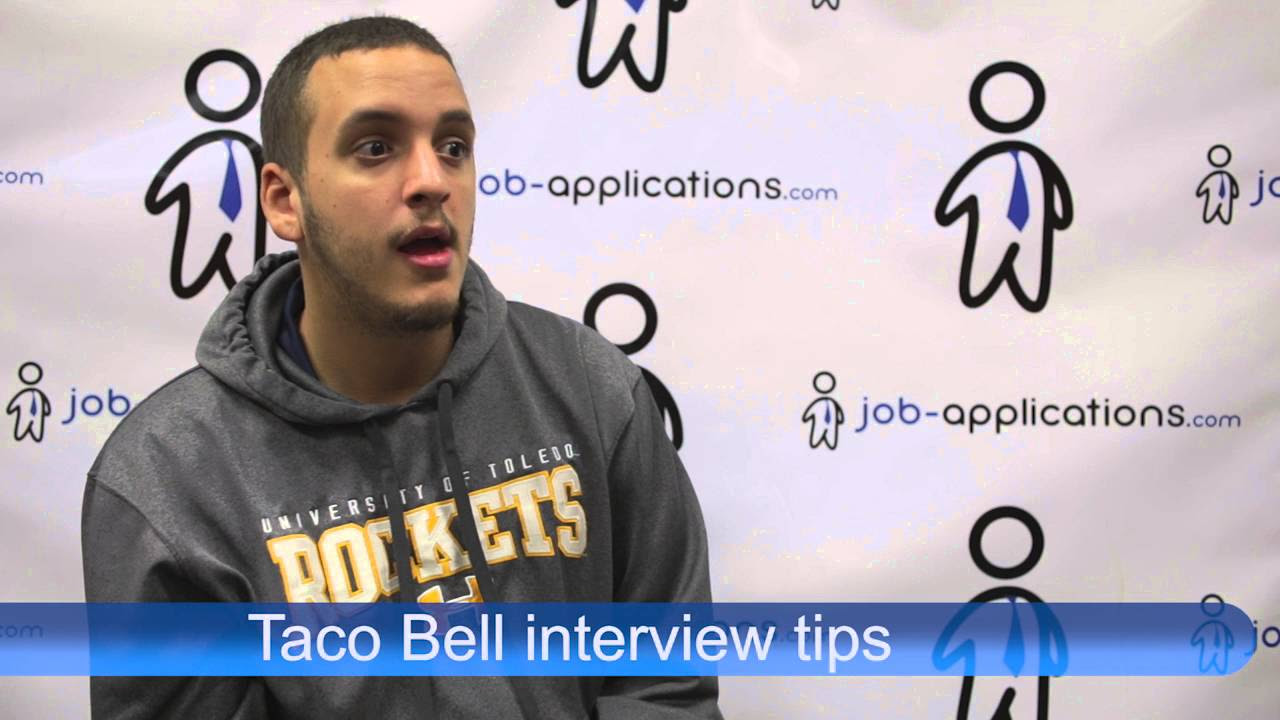 taco bell interview questions tips