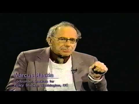 Humanities Profiled - Marcus Raskin, Institute for Policy Studies