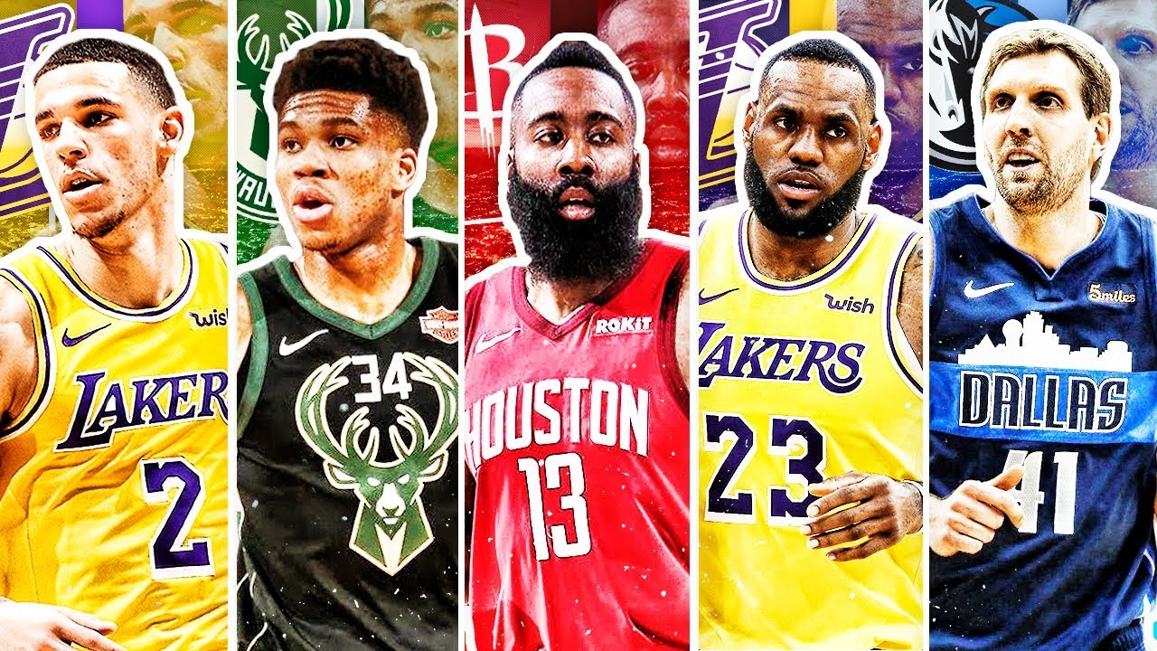 Best Players In Nba 2019 BEST NBA PLAYER FROM EACH AGE IN 2019   YouTube