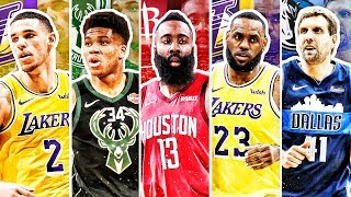 BEST NBA PLAYER FROM EACH AGE IN 2019