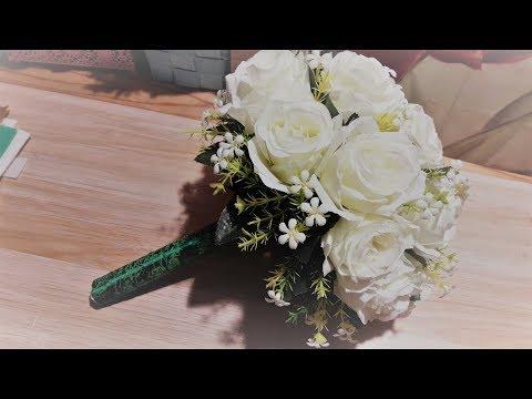 Свадебный букет дублер видео своими руками