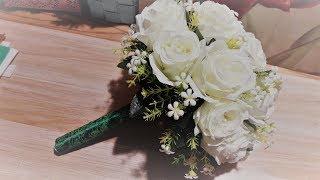 Как сделать свадебный букет дублер супер мега простой способ ✔ Marine DIY Guloyan✔