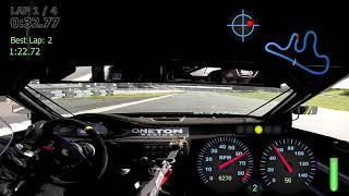 One Ton Racing EG Honda Civic at CART Time Trial