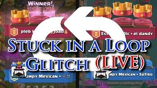 Clash Royale Result Screen Loop Glitch (LIVE)