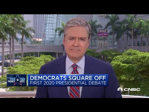 Democrats square off in the first 2020 presidential debate