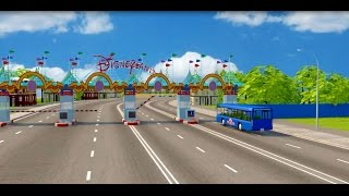 wheels on the bus go round and round song | disney nursery rhymes for children | kids songs