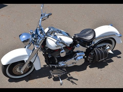 How To Install Softail Bobber Seat Conversion Kit Chopper Harley Davidson Fatboy