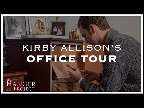 Kirby Allison's Office Tour