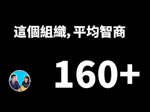 一個平均智商超過160的組織每天都在幹什麼 | 老高與小茉 Mr & Mrs Gao