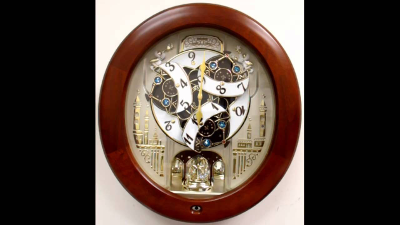 Qxm531zrh seiko melodies in motion clock with swarovski crystals qxm531zrh seiko melodies in motion clock with swarovski crystals youtube amipublicfo Images
