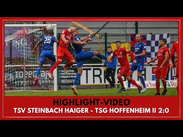 TSV Steinbach Haiger - TSG 1899 Hoffenheim U23 2:0 (Regionalliga Südwest I #TSVTSG )