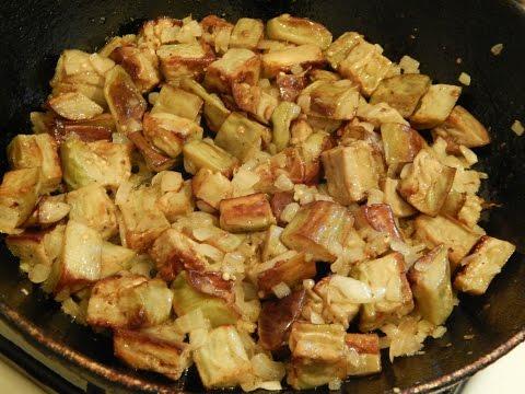 Жареные баклажаны со вкусом грибов. Простой и очень вкусный рецепт!