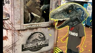 Cars 3 Toys Hunt Jurassic World Fallen Kingdom toys - Giant Jurassic World Blue iRL - Dinosaur Toys