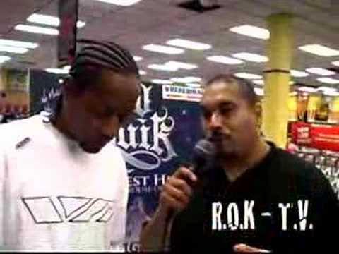 DJ QUIK INTERVIEW (in-store signing)