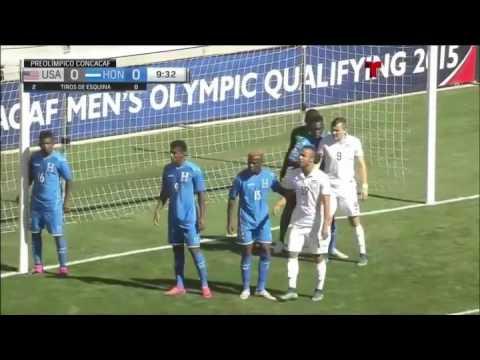USA U23 Vs HONDURAS U23 - 10/10/15