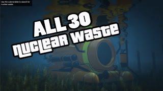 GTA 5 - Všech 30 boxů s nukleárním odpadem (Waste Managment - Achievement CZ/SK)