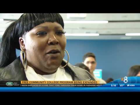 KFMB-SD: Free Community College Program Being Expanded in San Diego