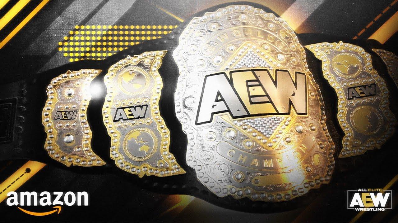 AEW Championship Replica Unboxing - Comprado en AMAZON