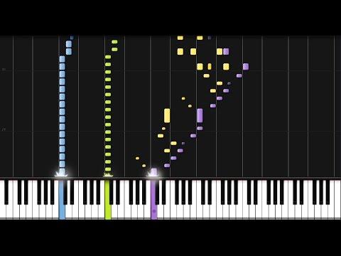 "Beethoven: ""Pathetique"" Piano Sonata No. 8 in C minor - Complete [Piano Tutorial] (Synthesia)"