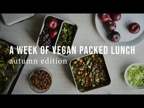 A WEEK OF VEGAN PACKED LUNCH: AUTUMN EDITION | Good Eatings