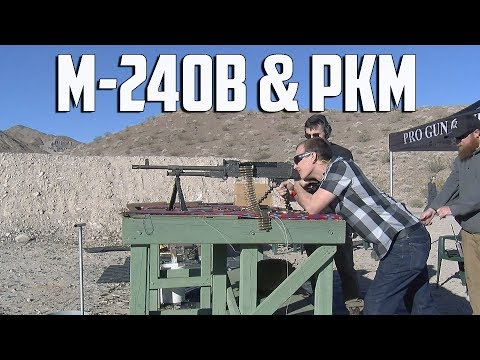 Shot Show 2018 - M240B & PKM