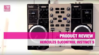 Review Hercules DJControl Instinct S