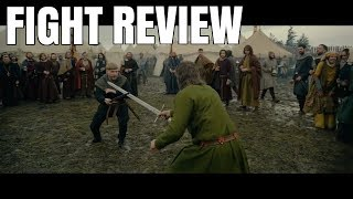 Outlaw King duel Robert the Bruce vs Edward Prince of Wales | FIGHT REVIEW