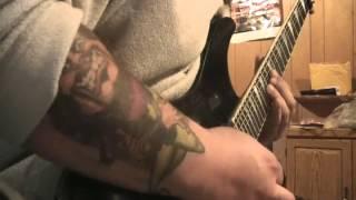Pantera - Psycho Holiday solo only cover camera mic #panteracoversfromhell