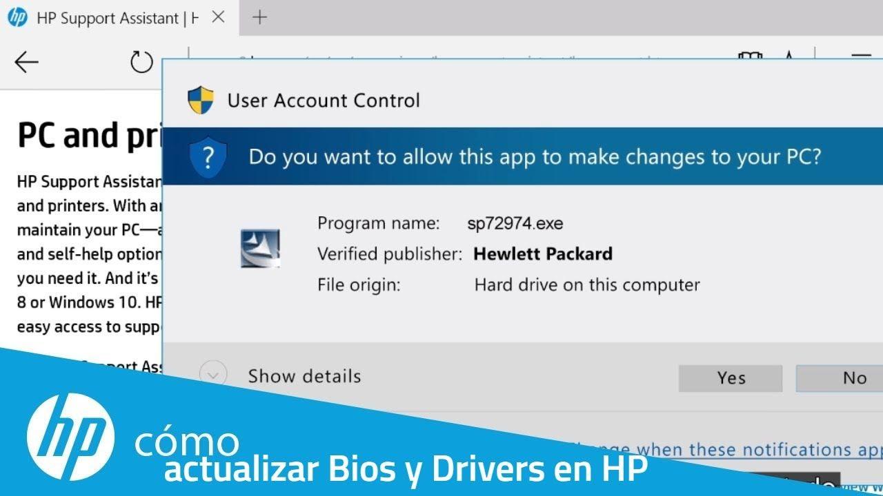 Actualizar BIOS y controladores en HP con HP Support Assistant 100 % seguro