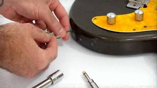 Fixing A Loose Input Guitar Jack And Keeping Them Clean