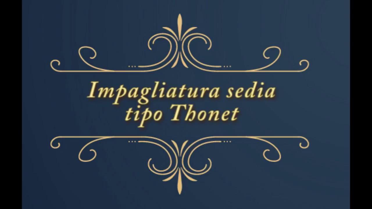 Impagliatura Sedie Cagliari.Impagliatura Di Una Sedia Tipo Thonet