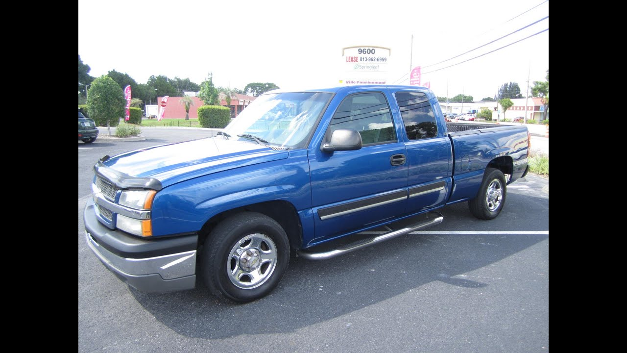 sold 2003 chevrolet silverado 1500 ls ext cab meticulous motors inc florida for sale youtube. Black Bedroom Furniture Sets. Home Design Ideas