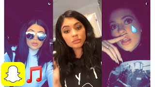 Kylie Jenner Song Compilation Snapchat #4 | Kylie Snaps