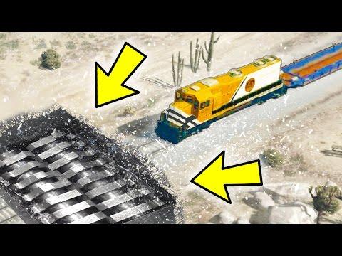 CAN YOU CRUSH THE TRAIN IN GTA 5?