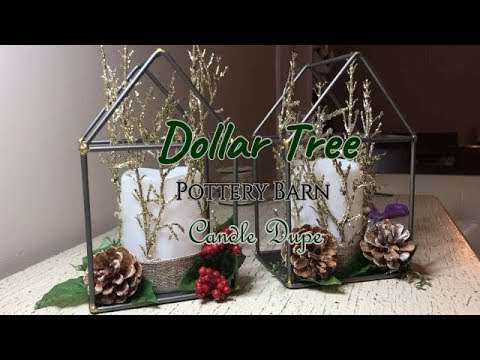 Dollar Tree DIY | Pottery Barn Dupe | DIY Christmas Decor