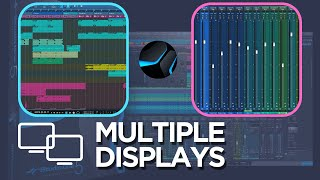 How to use Studio One with multiple Displays