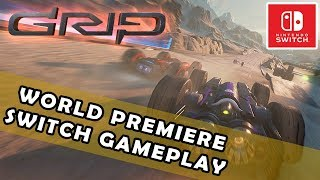 """""""GRIP"""" {WORLD PREMIERE FOOTAGE} on the NINTENDO SWITCH with LEAD DEVELOPER INTERVIEW {PAX EAST}"""