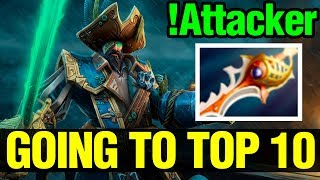 Going To Top 10 World - !Attacker Kunkka Divine And Daedalus Build - Dota 2