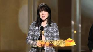 Terri Minton 2011 Academy Awards Rehearsal