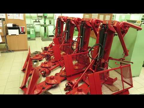 Косилки роторные навесные КРН 2,1М в производственном цехе ММЗ