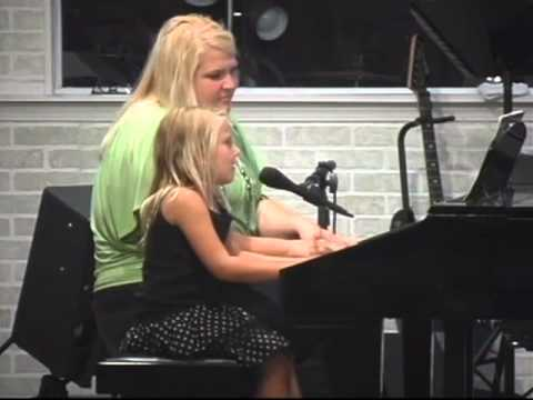Young Lady Sings at Jewel City Church
