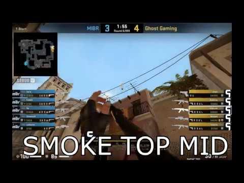 CSGO - Mirage Fast Palace Rush (Ghost Gaming vs MiBR)