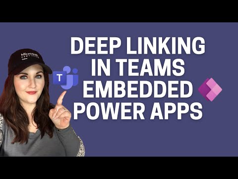 Deep Linking in Teams Embedded Power Apps