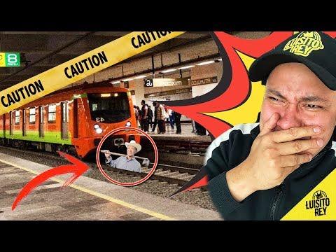 Los videos más extraños del metro nunca antes revelados - Luisito Rey ♛