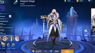 Magnet Mage NEW HERO (brother of ling) IN MOBILE LEGENDS