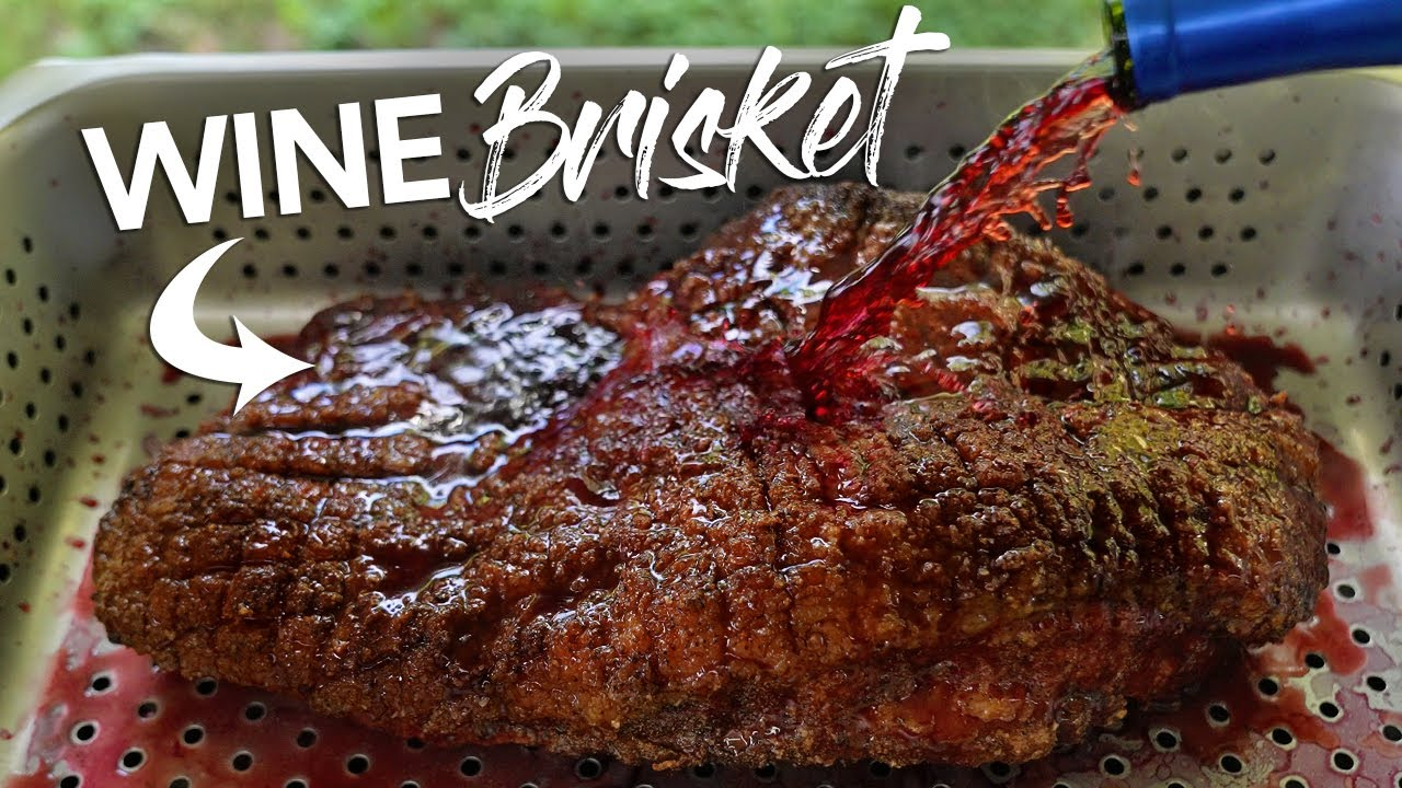 Can WINE make a CHEAP Brisket Better? | Guga Foods